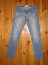 Hollister Jeans Gr.7 36-38 *NEU* W28 L33 used look sexy schick Abercrombie Fitch