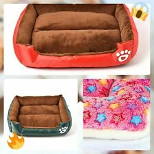 Pet Soft Fleece Pad Blanket Bed Mat For Puppies, Dogs and cats
