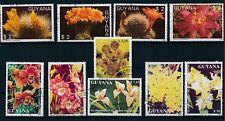 "Guyana ""BIRDS & FLOWERS"" (1987-91) 21 USED CTO's/HINGED"