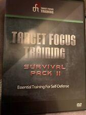 Target-Focus Training (Tft) - Survival Pack Ii Essential Self-Defense - 4 Dvds