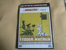 """DVD PROMO """"ANIMATIKC, VOLUME 3 : Fyodor KHITRUK"""" courts metrages animation Russe"""
