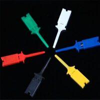 10pcs SMD IC Logic Analyzer Mini Grabber Test Clip Hook Probe Jumper 5 Colors