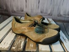 Womens shoes comfort flats slip mary janes mules work rhne 9.5 F8910E leather