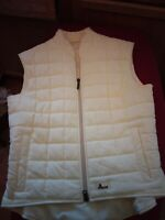 Pikeur Women's Yellow Quilted Sleeveless  Equestrian Vest Sz 10