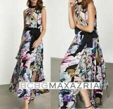 BCBG MAXAZRIA 12 Triumph Petals Maxi Dress NWT $498