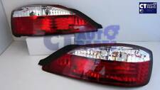 Crystal Clear Red LED Tail lights for 99-02 NISSAN SILVIA S15 200SX Spec R