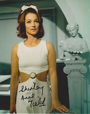 Shirley Anne Field Signed 8x10 Photo -Star of THE ENTERTAINER - CUTE!!! G711