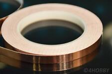 Kupferband 30m 10mm Breit selbstklebend Band aus Kupfer für Gitarren, Modellbau
