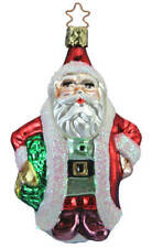 Inge Glas Owc 4114 A Welcome Visitor German Glass Christmas Ornament