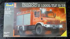 Revell Mercedes Benz Unimog 1300L Fire Truck 1/24 Model Kit