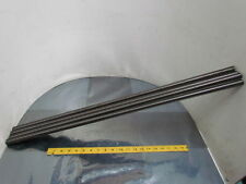 "Keystone 3/4-6 RH Acme Roll Threaded Bar Rod 31-3/4"" Long Carbon Steel Lot of 4"