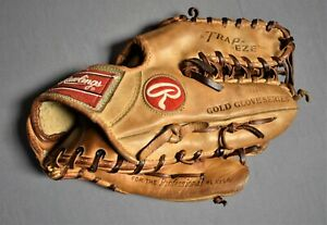 RARE Rawlings Gold Label Glove Heart Of The Hide PRO 12-TC Trapeze USA Baseball
