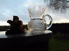 "Edinburgh Crystal THISTLE (CUT)  3 1/4""  TODDY  glass OR glasses ( 1st )"