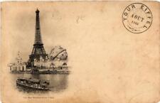 CPA EXPO DE 1900 PARIS Tour Eiffel (564126)