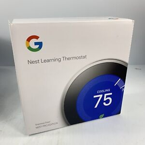 Box Only for Google Nest T3019US Programmable Thermostat-Fast Shipping