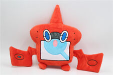 "2017 New Tomy Edition Pokemon Rotom Dex Pokédex 8"" Plush Doll Soft Toy"