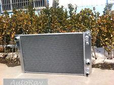 Aluminum Radiator for Chevrolet Corvette 5.7L L83/S10 V8 Conversion 84-90 88 89