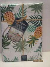 "Tommy Bahama Water Repellent Indoor.Outdoor Tablecloth 60""x 84"" Pineapples, NIP"
