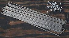 36x 294mm DB14 Wheel Smith 2/1.7 StainlessSteel Bicycle Spokes 12mm Nipples Bike