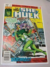 Marvel comics The Savage She-Hulk #2 (1980) Deathrace, Very Nice Book Newsstand