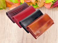 New 2020 Ladies Leather Wallet Cash Multi Credit Card Organizer Red Black Navy