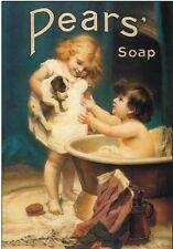 "TARGA VINTAGE ""PEARS' SOAP 1789"" Pubblicità, Advertising,Poster Plate, Art Retro"