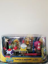 Spongebob Deluxe Collectible Figure Pack Dunces and Dragons Figurine Set #110
