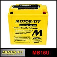 BATERÍA [MOTOBATT] MB16U = YB16BA (12 V 20 SELLADO EN HABILITADO