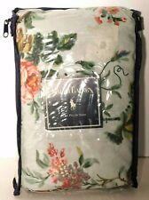 Vtg. Ralph Lauren Home Collection King Pillow Sham Lt. Green Floral 20x36 New