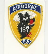 US ARMY PATCH - 187TH PARACHUTE GLIDER INFANTRY REGIMENT