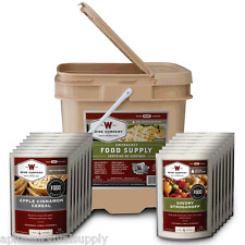 Wise Foods Bucket 56 Serving Emergency Survival Food Rations Freeze Dried Combo