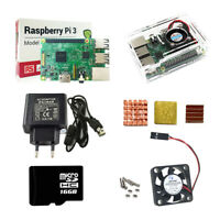 Raspberry Pi 3 Model B Starter Kits Quad Core 1.2GHz 64 bit CPU wifi & bluetooth
