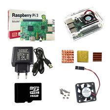 Raspberry Pi 3 Model B Starter Kits Quad Core 1.2GHz 64 bit CPU wifi & bluetooth