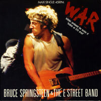 Bruce Springsteen & The E Street Band  : War 12 Inch 3 Track Vinyl EP