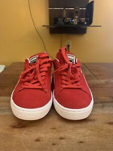 Size 10 - PUMA Suede Classic Red