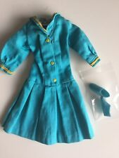 mod vintage orig Barbie See Worthy  #1872 dress and htf blue sneakers