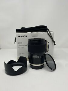 Tamron SP 35mm f/1.4 Di USD Lens for Canon EF Complete With Polarizer