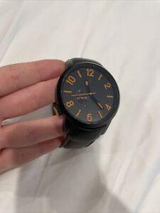 ripcurl watch mens Black Orange