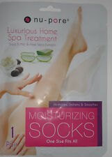 Nu-Pore Moisturizing socks 1 Pair