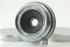 [Exc+5] CANON 28mm f/3.5 Lens L39 Leica Screw Mount From Japan
