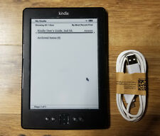 Amazon Kindle (4th/5th Generation) 2GB WiFi 6in, D01100 Black (Scratch and Dent)