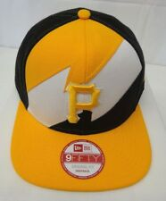 57616099b3a Pittsburgh Pirates Men s New Era 9FIFTY Bolted Original Fit Snapback Cap Hat