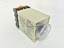 ST3PF DC 12V 60s Power Off Delay Timer Time Relay 12VDC 0-60 Second with Base