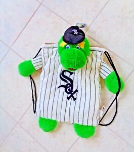 WHITE SOX PLUSH MASCOT BACKPACK PAL FOREVER COLLECTABLES ~ NEW