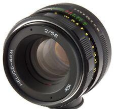 Helios-44M 58mm 50mm f2 2.0 Zenit lens M42 dSLR Pentax Canon KMZ biotar planar