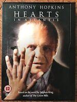 Hearts in Atlantis DVD 2001 Stephen King Drama / Horror in Snapper Case