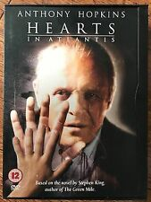 Anthony Hopkins HEARTS IN ATLANTIS ~ 2001 Stephen King Drama / Horror UK DVD