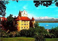 Meersburg am Bodensee , Altes Schloß, Ansichtskarte