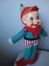 "Large Vintage Elf Pixie 12"" Doll"