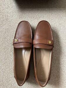 Ralph Lauren Ladies Loafers Size 6.5 Brand New In Box